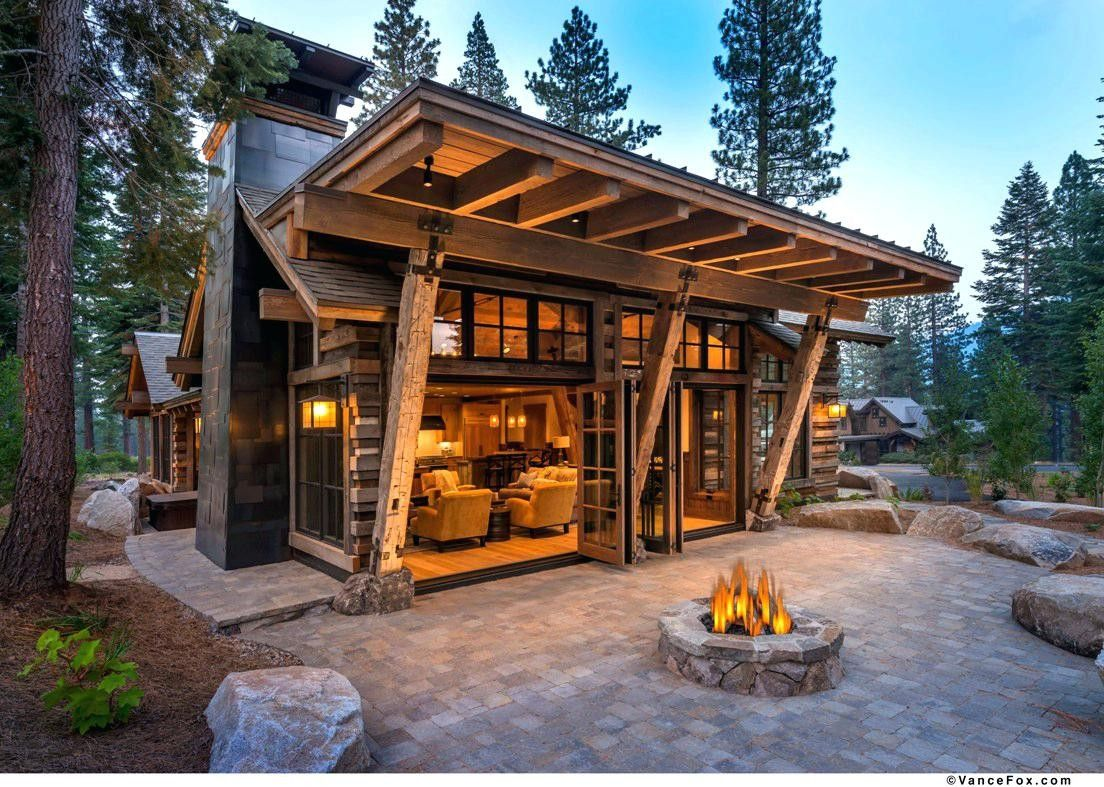 50 Awesome Rustic Cabin Camp Go Travels Plan Modern Cabin Rustic House Cabin Design