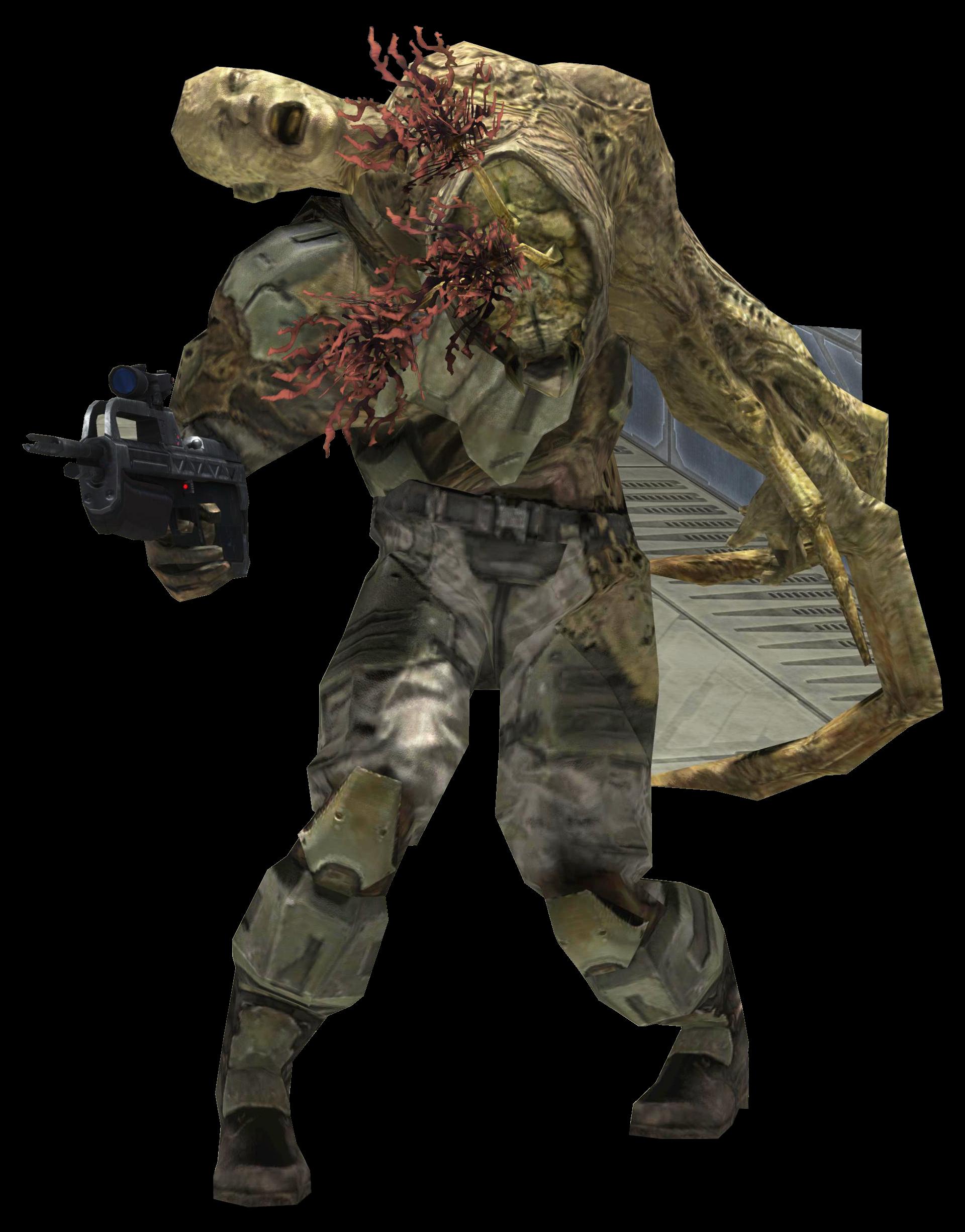 halo 3 flood combat form | Videojuegos, Video juego