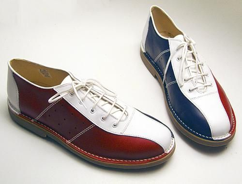 patriotic/mod bowling shoes from IKON ORIGINAL | Retro Bowling ...