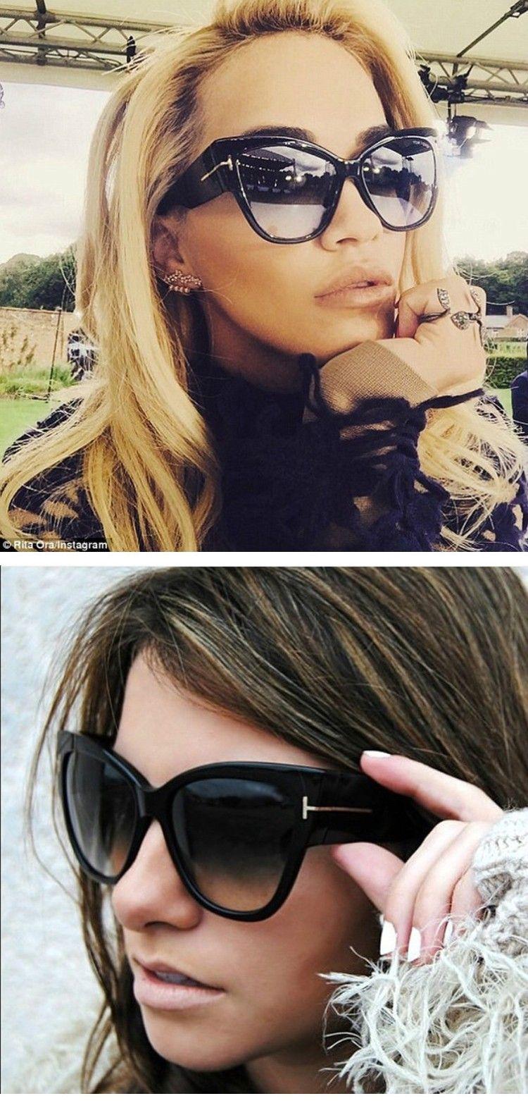 33ad725b58480 2016 New Fashion Cat Eye Sunglasses Women Brand Designer Vintage Luxury  Street Snap Sun Glasses Oculos De Sol Feminino Gafas