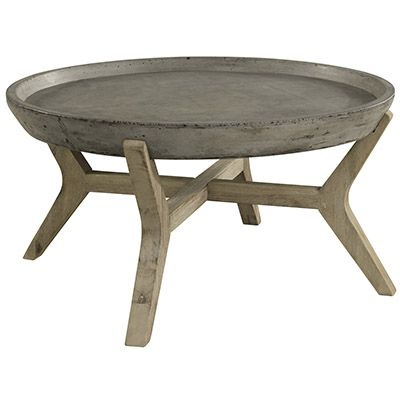 Soffbord TONGA betong 85cm | Tofta Möbel | Allrum | Pinterest | Tonga : soffbord betong : Soffbord