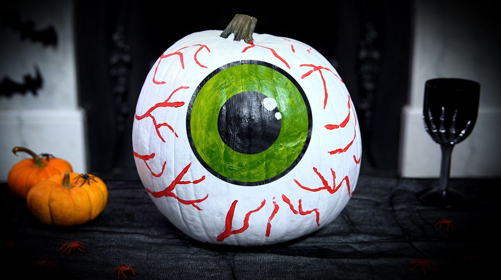 Scary No Carve Vampire Pumpkin Google Search Pumpkins