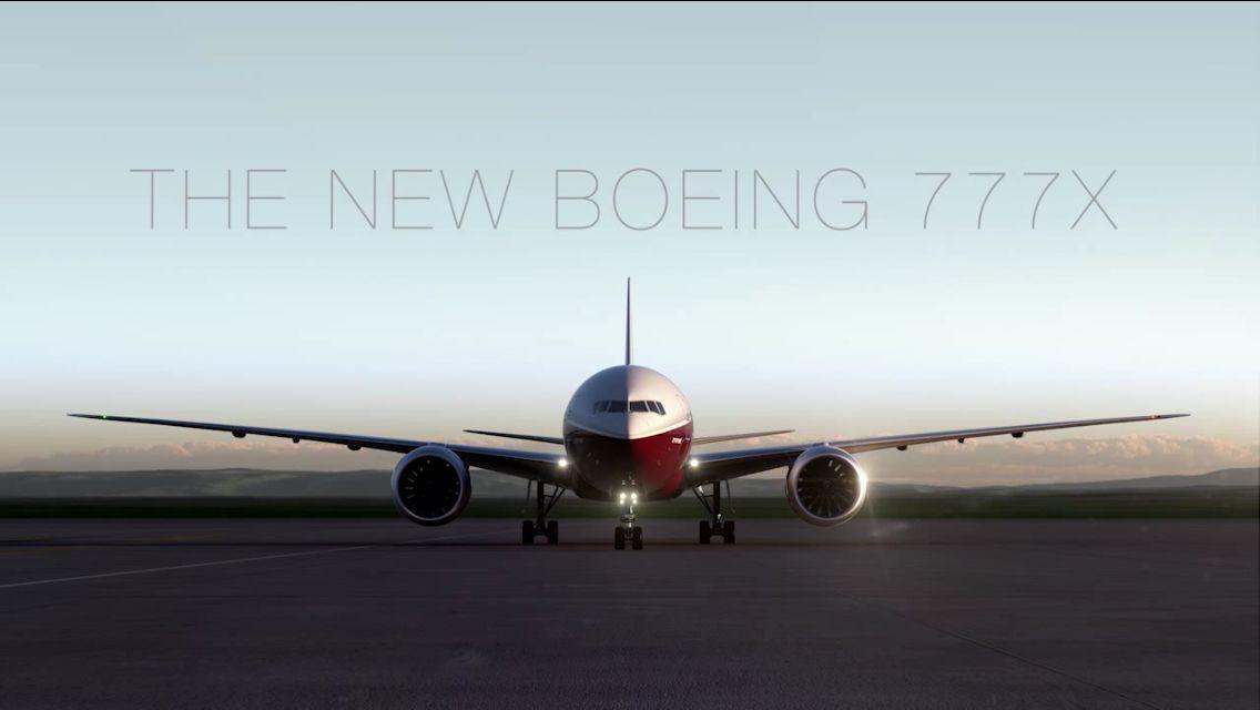 New Boeing 777X