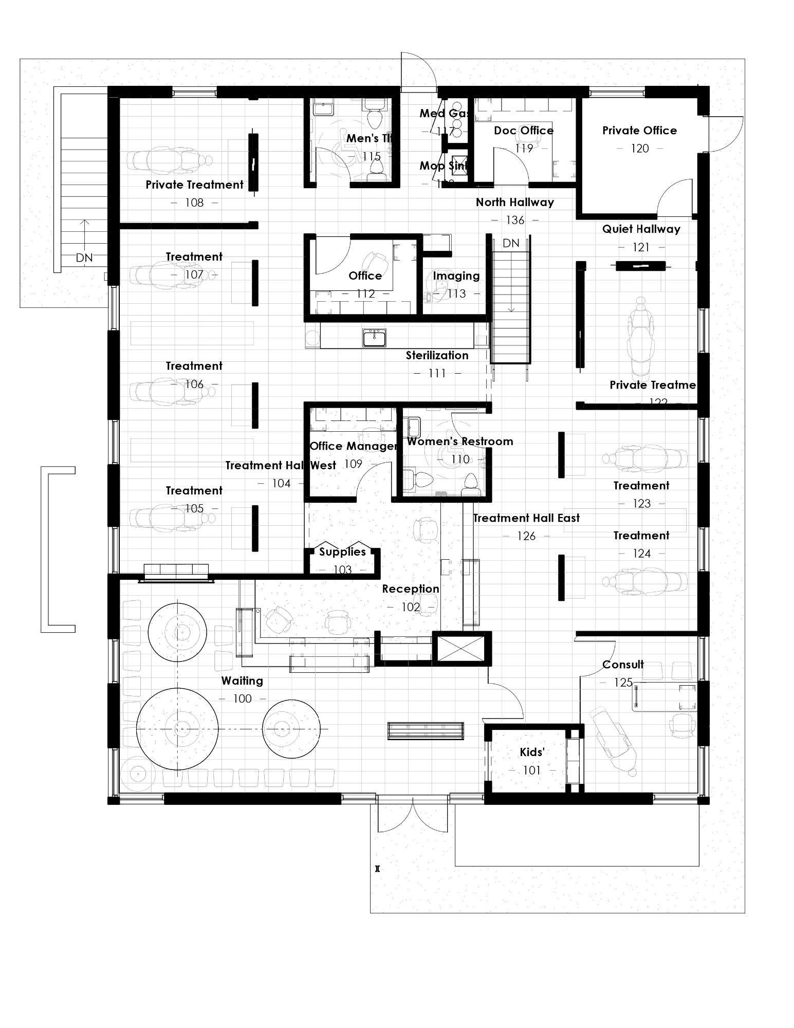 dental office design pediatric floor plans pediatric. Little Britches Pediatric Dentistry - Joe Architect Dental Office Designs Design Floor Plans D