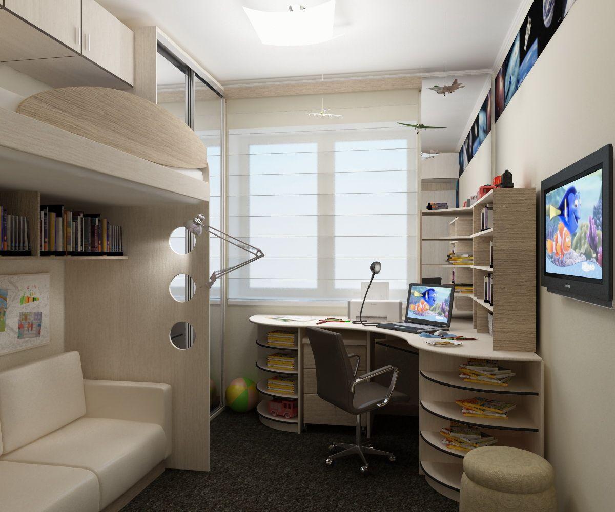 интерьер детской комнаты 11 12 кв м секреты и хитрости дизайна