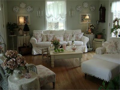 pictures of shabby chic rooms - Google Search