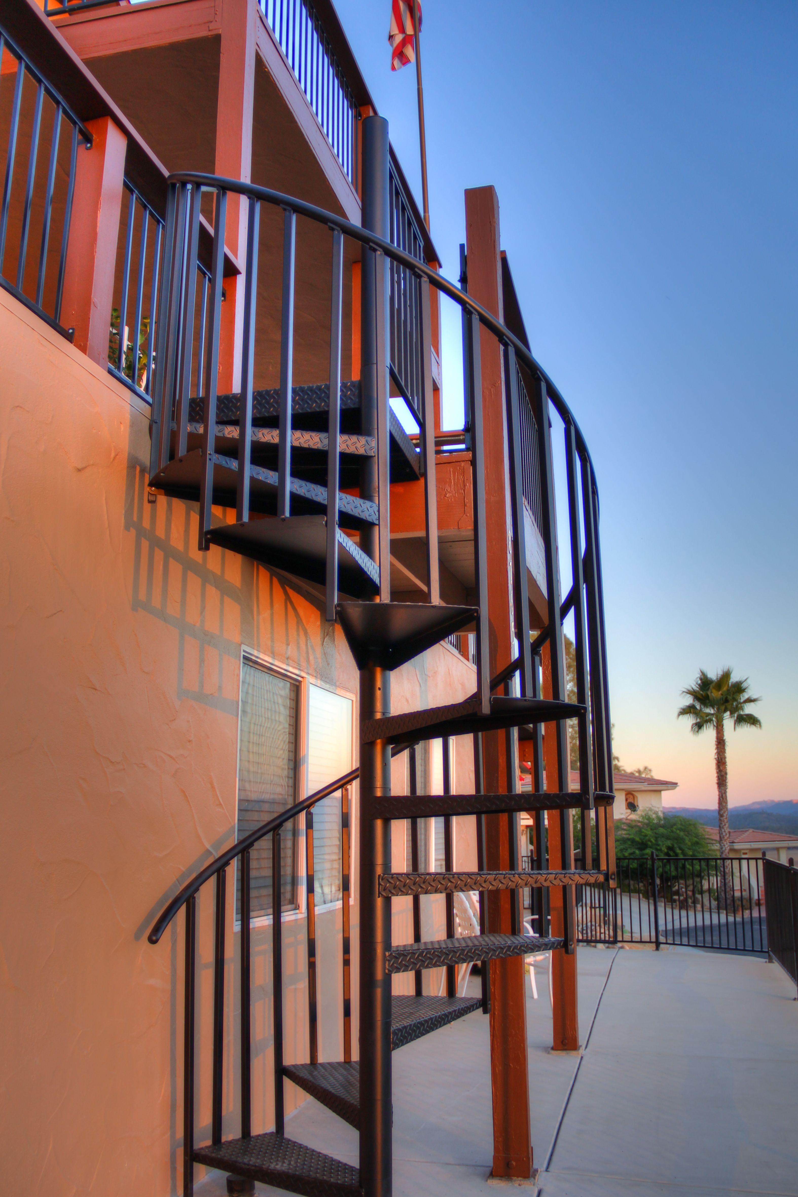 Best Exterior Deck Spiral Stair Ca Stairs Spiral Staircase 400 x 300
