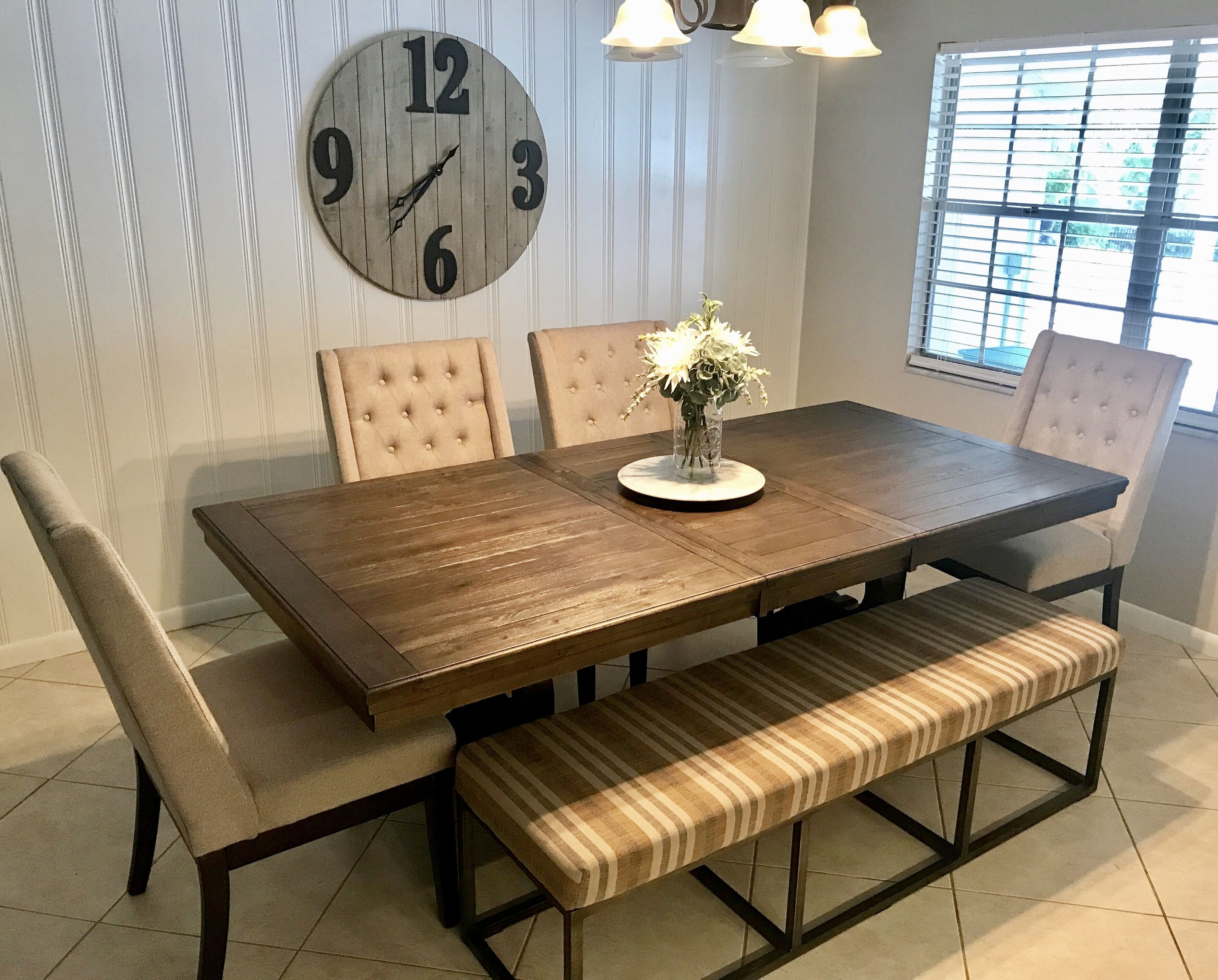 Wendota Dining Room Extension Table Dining Room Table Set