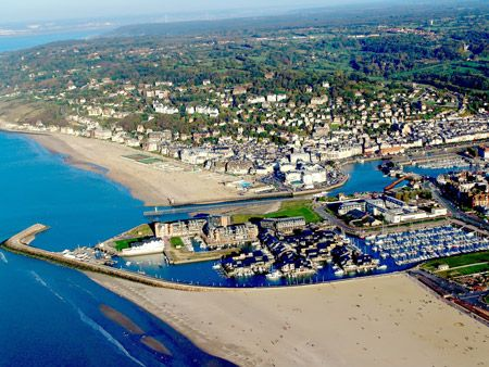 only six miles north of deauville is the sheltered harbor of trouville a deux heures de paris. Black Bedroom Furniture Sets. Home Design Ideas