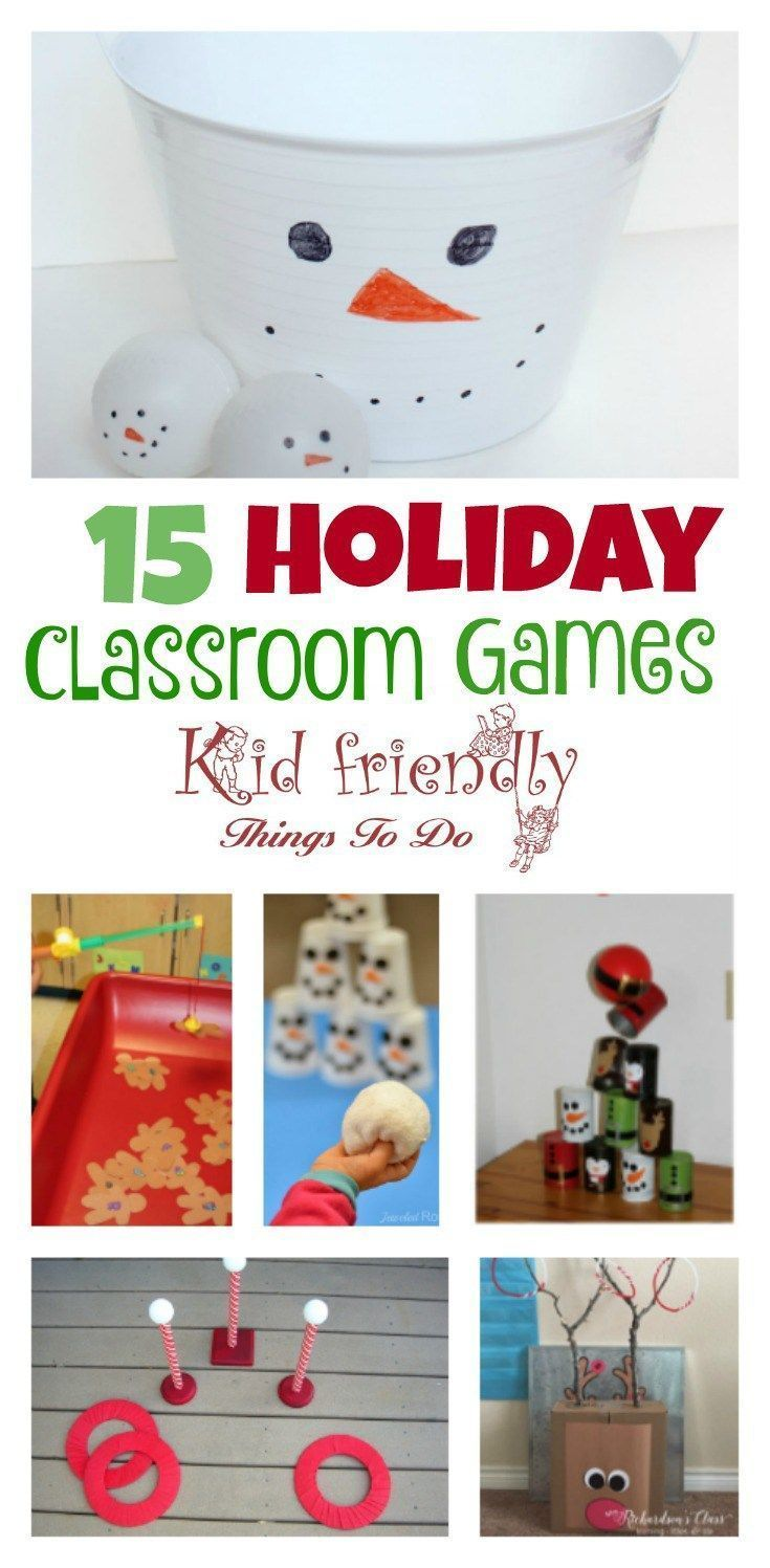 Over 15 Christmas Party Games For Preschool Kids to Play | DIY ...