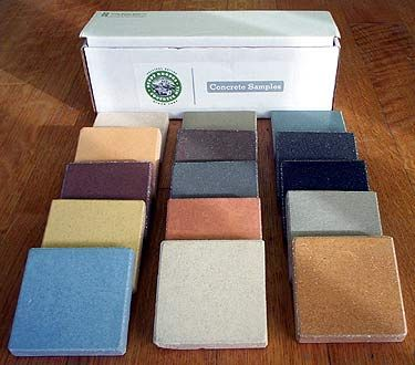 Buddy Rhodes Concrete Products Sample Box