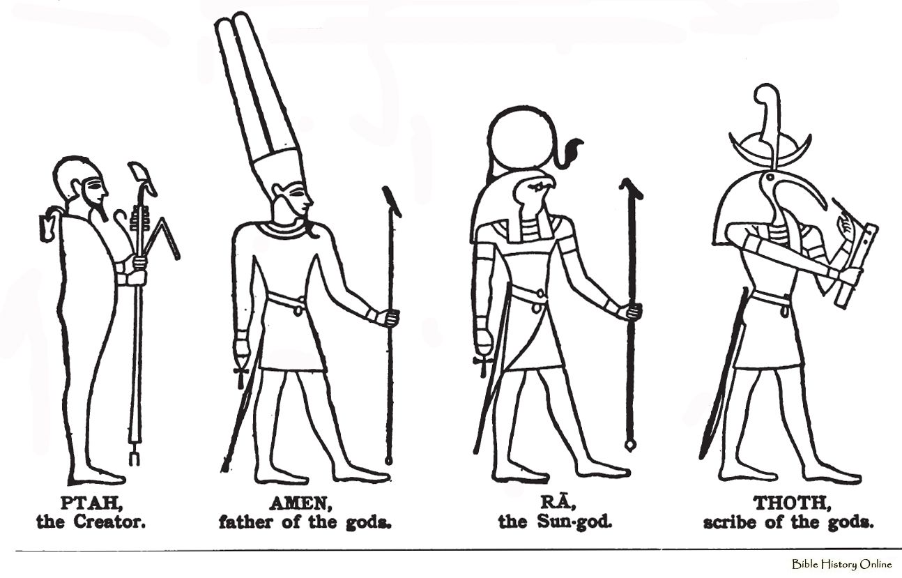 ancient egyptians gods and goddess