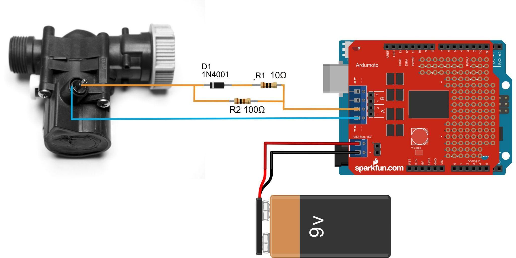 small resolution of gardena water timer controller using arduino uno electronza gardena valve circuit