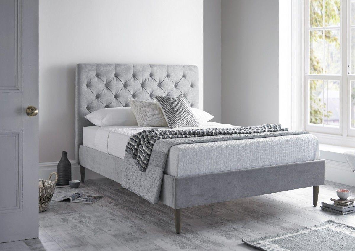 Victoria Upholstered Bed Frame Upholstered bed frame