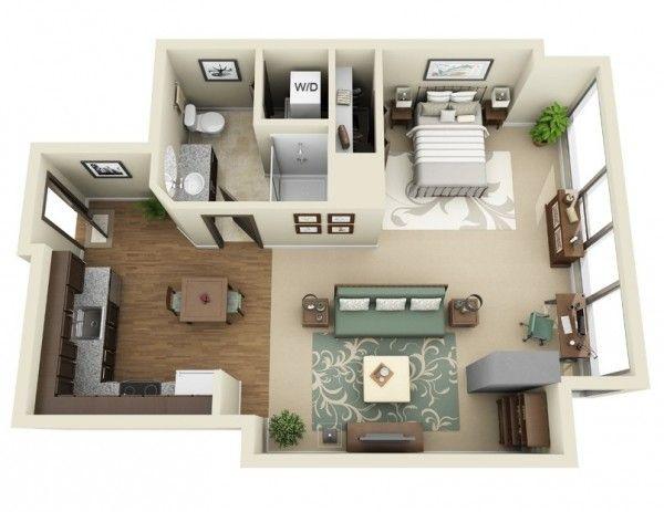 Studio Apartment Floor Plans Studio Apartment Floor