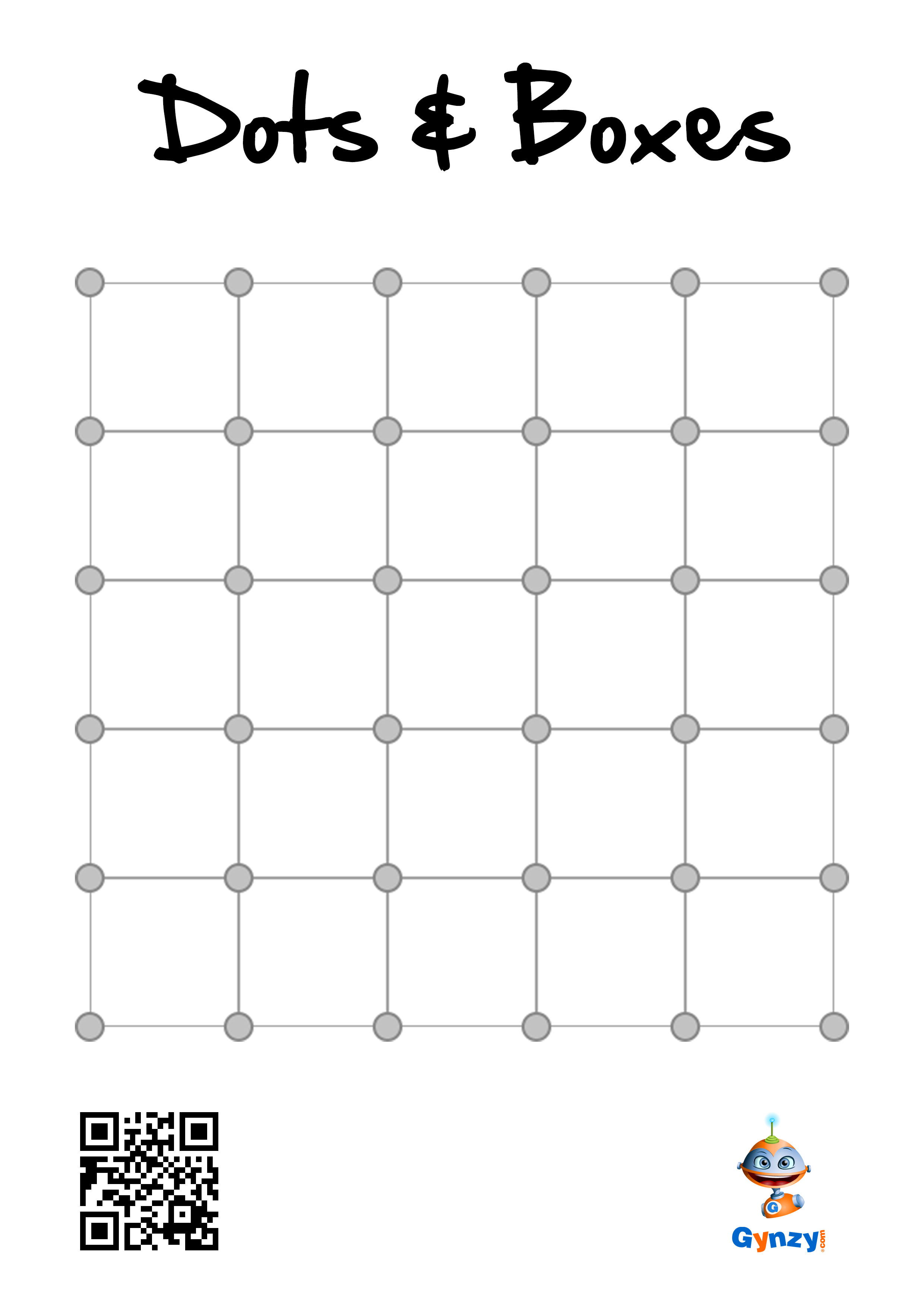 picture about Dots and Boxes Game Printable named Pin by means of Instructor Timo upon Dots Bins Cube Video game Dots match
