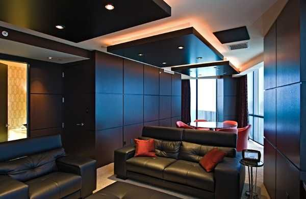 30 Glowing Ceiling Designs With Hidden LED Lighting Fixtures Part 79