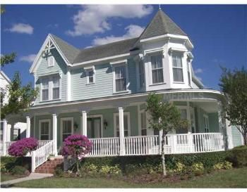 Celebration Florida Homes Like These Make It So Wonderful Victorian Style Homes City House Model Homes