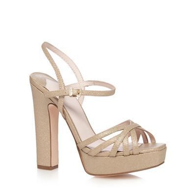 6fce2ca638c Faith Gold  Lolly  platform sandals