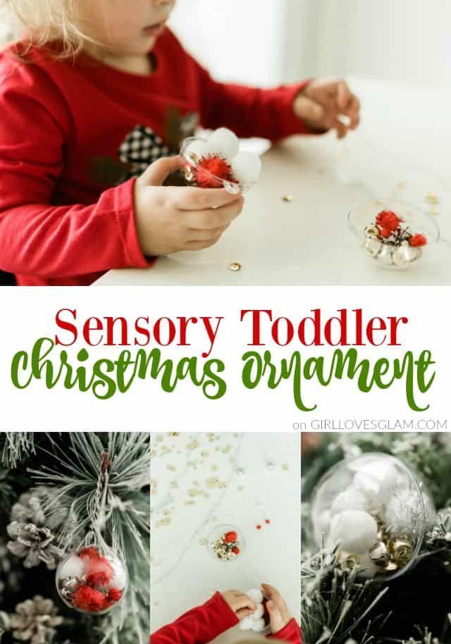 Sensory Toddler Christmas Ornament Craft Christmas Ideas
