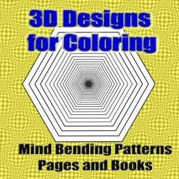 3d Designs Coloring Books Coloring Books 3d And Patterns Coloring Pages 3d Designs