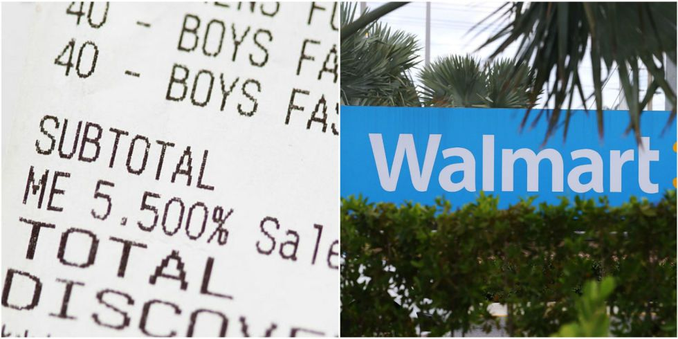 You Can Apparently Make Money Off of Your Walmart and Target Receipts - money receipts