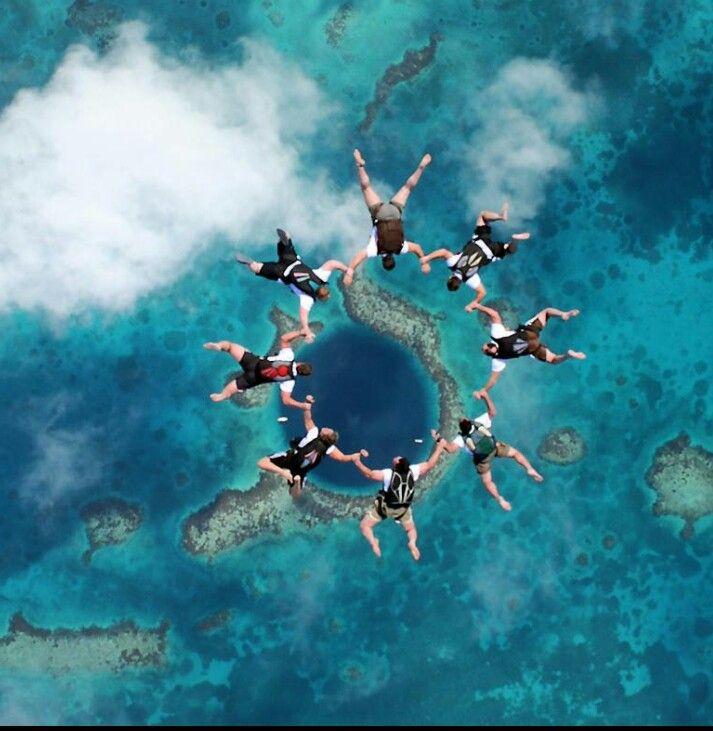 Pin De Maida Llona En Exploring The World Gran Agujero Azul Agujero Azul Paracaidismo
