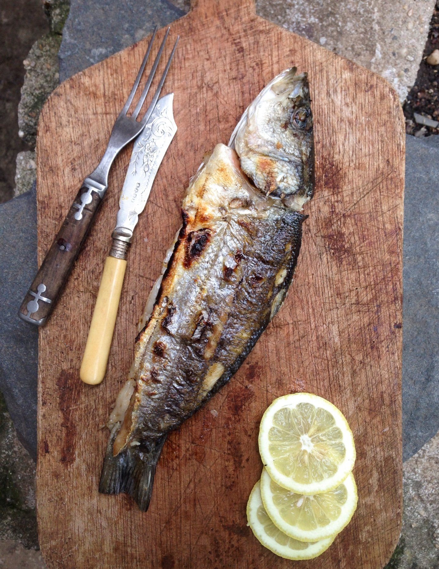 Recipe: Whole Grilled Branzino — Recipes from The Kitchn