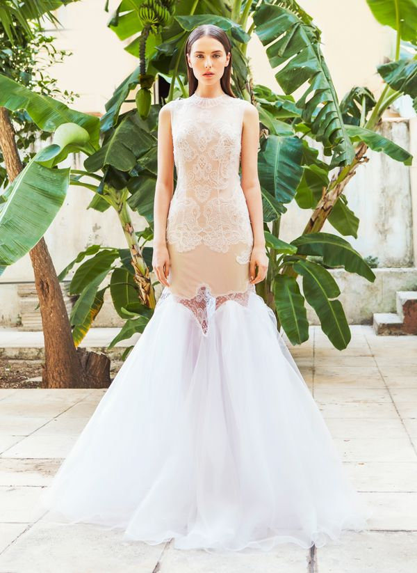 Christos Costarellos bridal collection 2015 | Romantic, Lace and ...