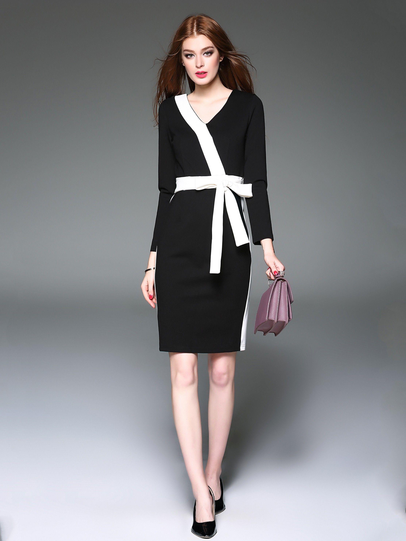 38++ Bow tie sheath dress inspirations