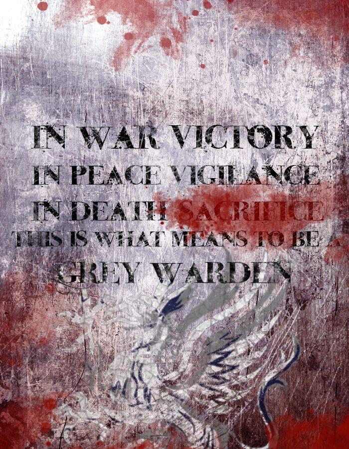 Grey Warden Motto