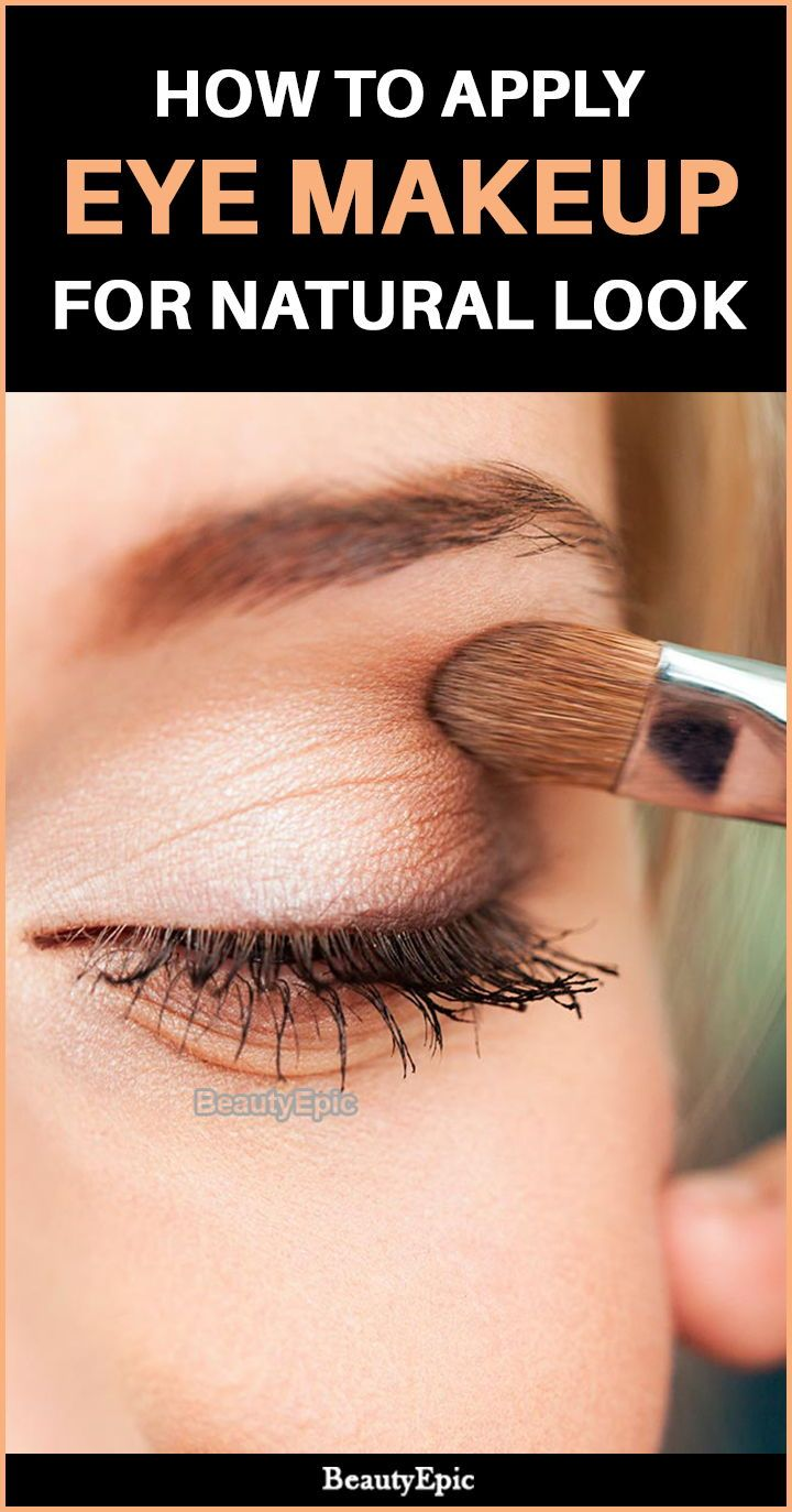 7 Steps To Apply Eye Makeup For Natural Look