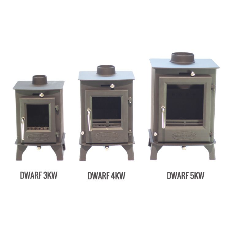 SMALL STOVE: The Dwarf 4kw   Tiny Wood Stove   Small houses ...