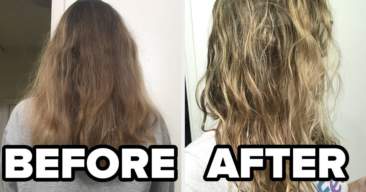 I Tried Different Wavy Hair Products That Tiktok Made Popular To See Which Worked Best Http In 2020 Wavy Hair Natural Wavy Hair Frizzy Wavy Hair