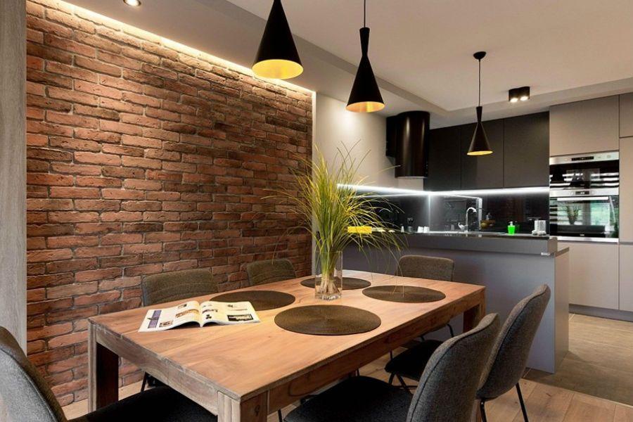 Jakie Wybrac Oswietlenie Do Jadalni Interior Design Kitchen Dining Room Contemporary Dining Room Design