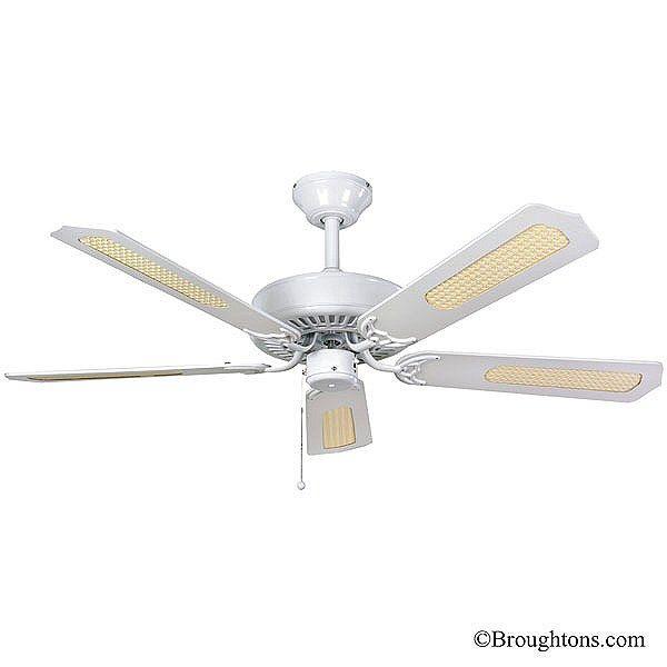 Fantasia Classic 52 Ceiling Fan White Ceiling Fan 52 Ceiling