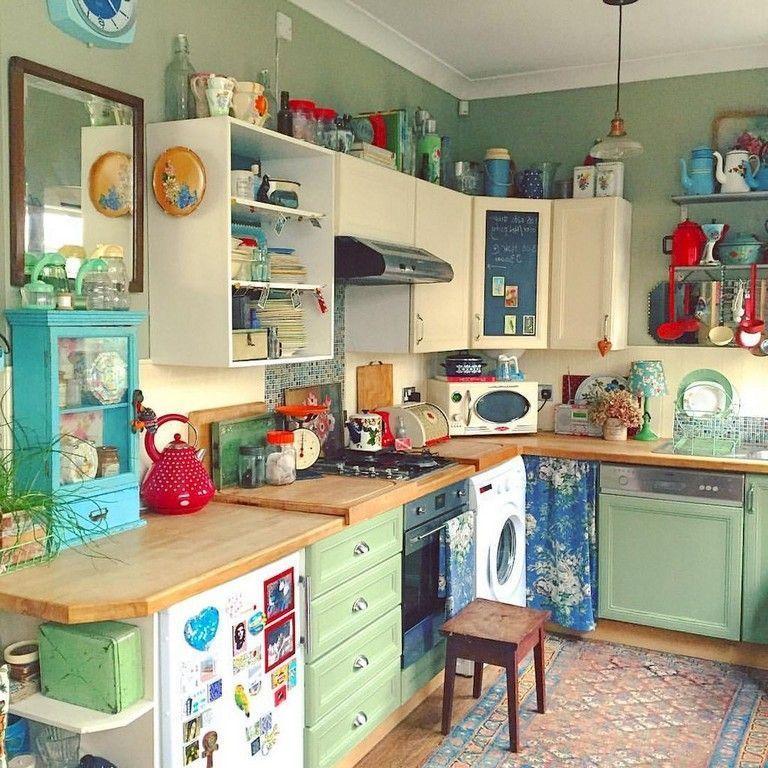 Old Fashioned Kitchens Retro