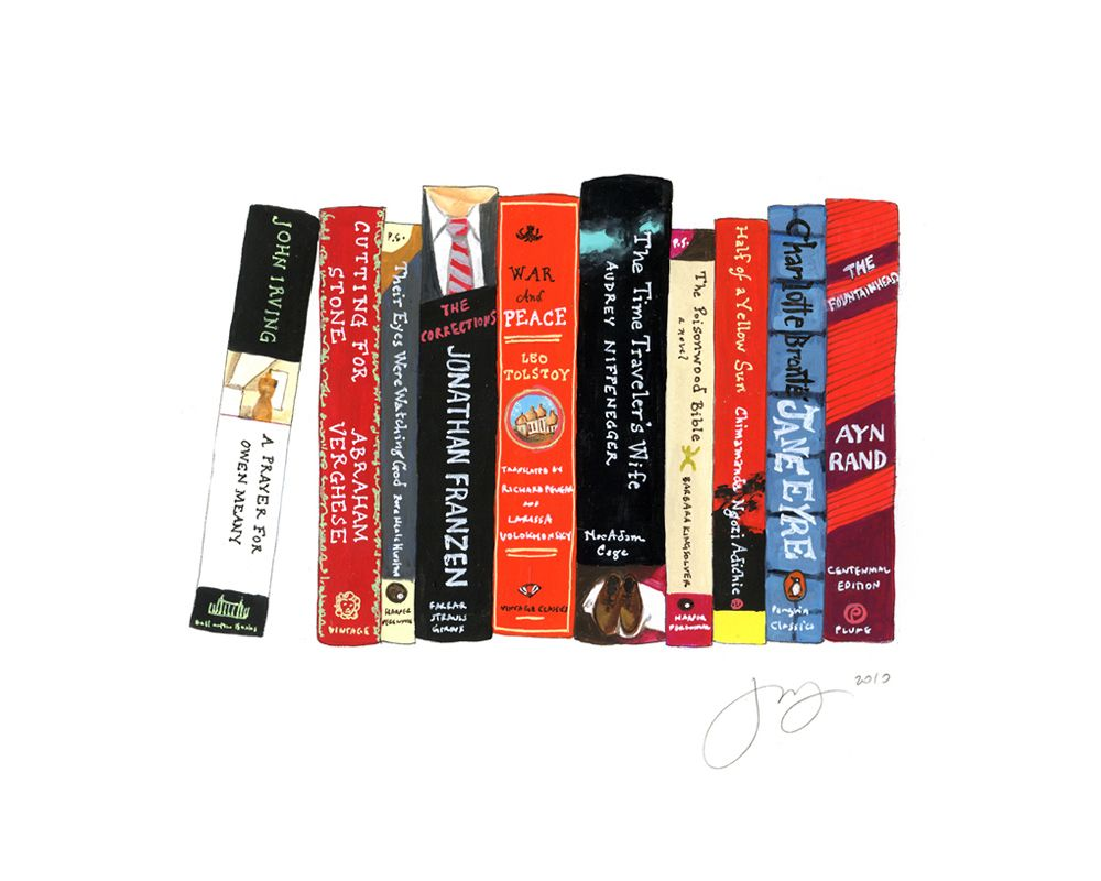 Love every Jane Mount Ideal Bookshelf Print