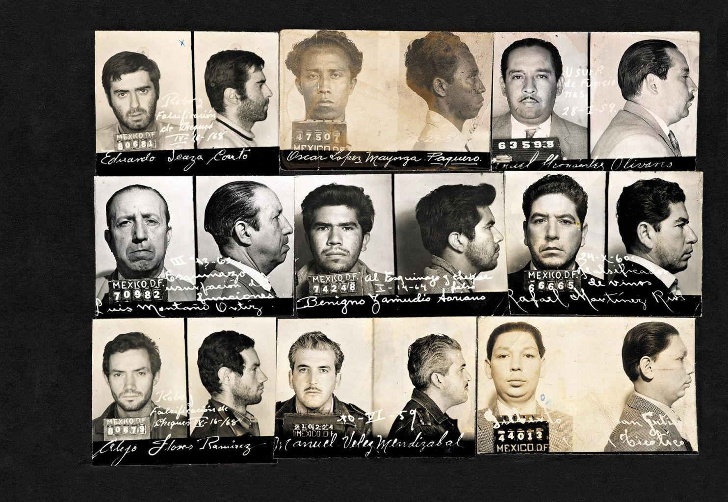 The strange beauty of vintage Mexican crime photos - The Washington Post