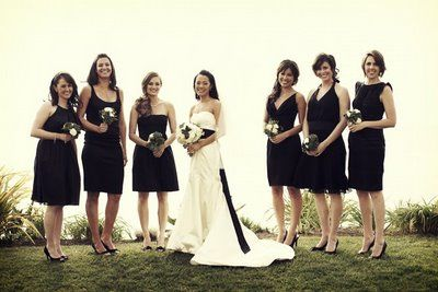 10  images about Black bridesmaids dresses on Pinterest - Classy ...