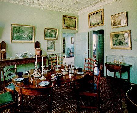 Breakfast Room In Mt Vernon Georgian Interiors