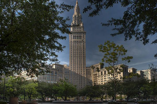 On Public Square in downtown Cleveland the Terminal Tower is probably still the most identifiable building in the city.