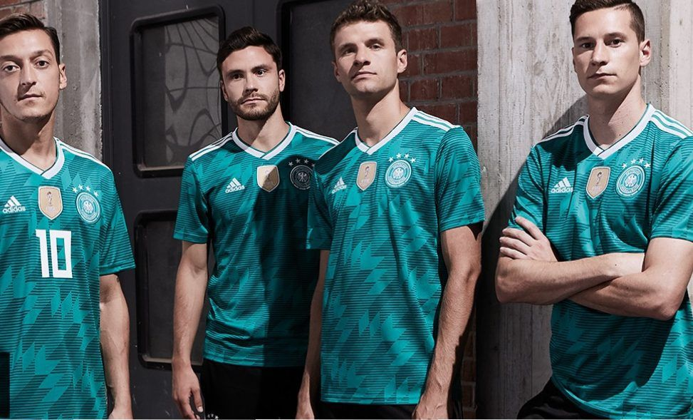 Germany 2018 World Cup adidas Away Kit  08c4455aa