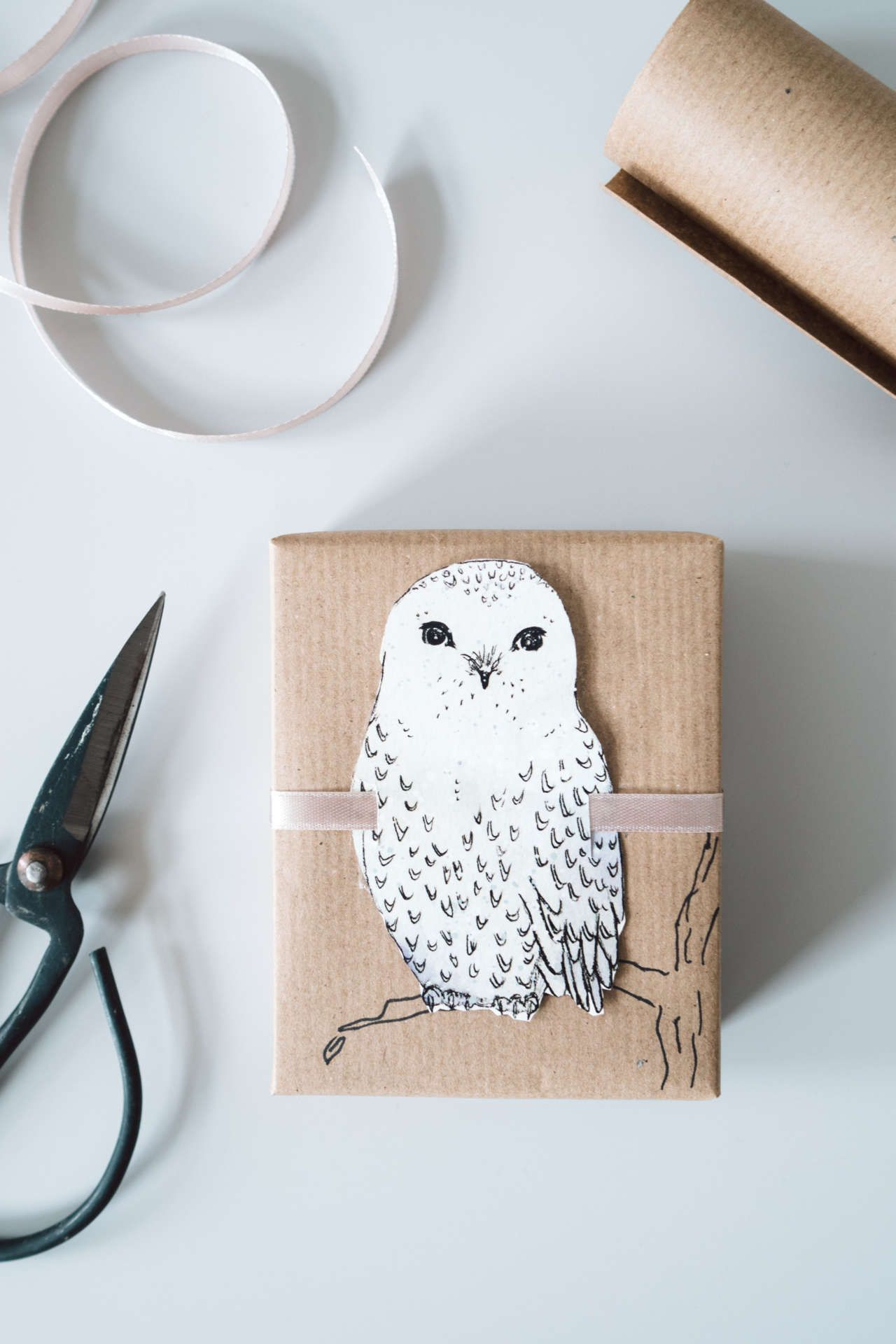 Geschenke verpacken: Niedliche Wintertiere