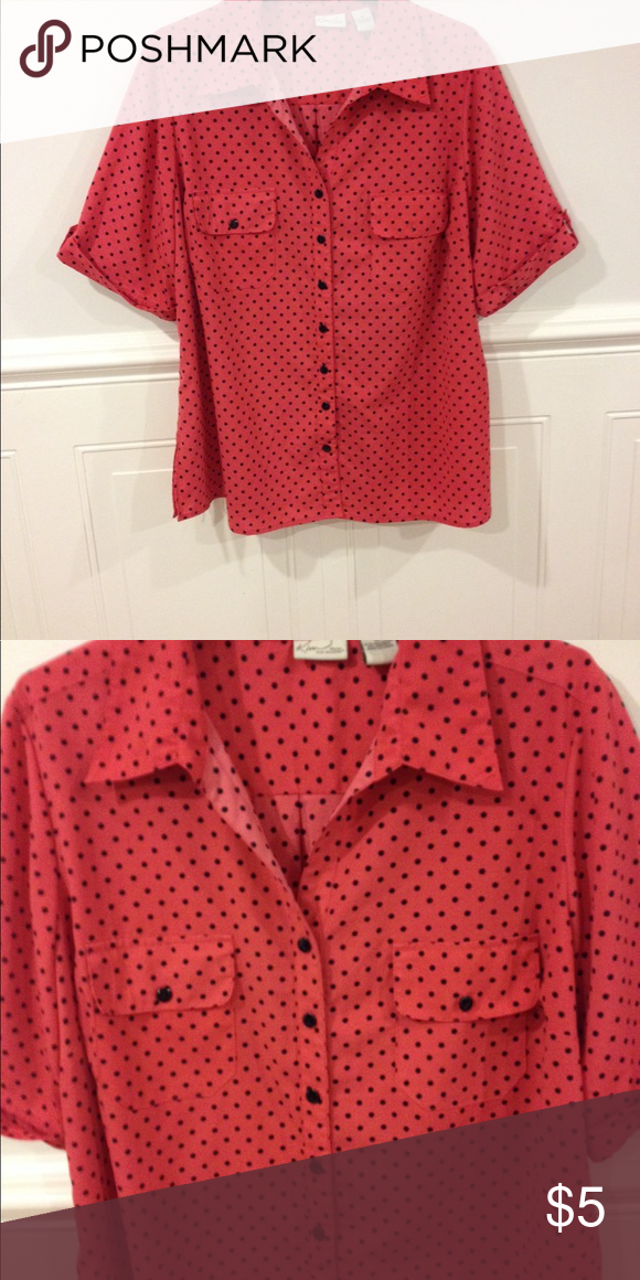 Kim Roger blouse size 3X good condition Size 3X Kim Roger blouse good condition Kim Rogers Tops Blouses