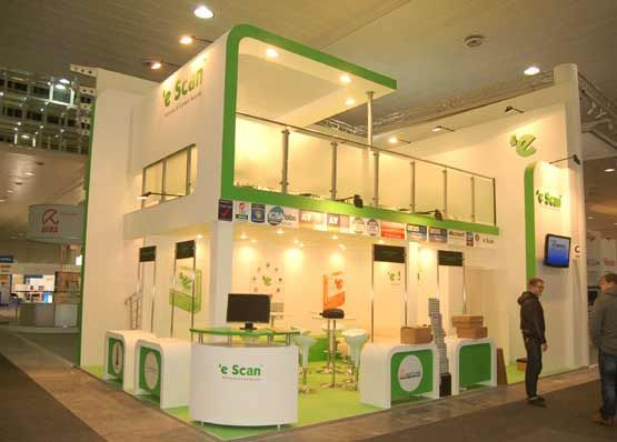 Trade Show Booth Builders : Cebit hannover custom exhibit trade show