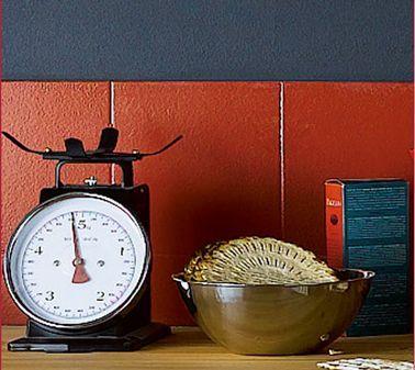 awesome Idée relooking cuisine - peinture caropeint Julien Déco - Peindre Du Carrelage Mural De Cuisine