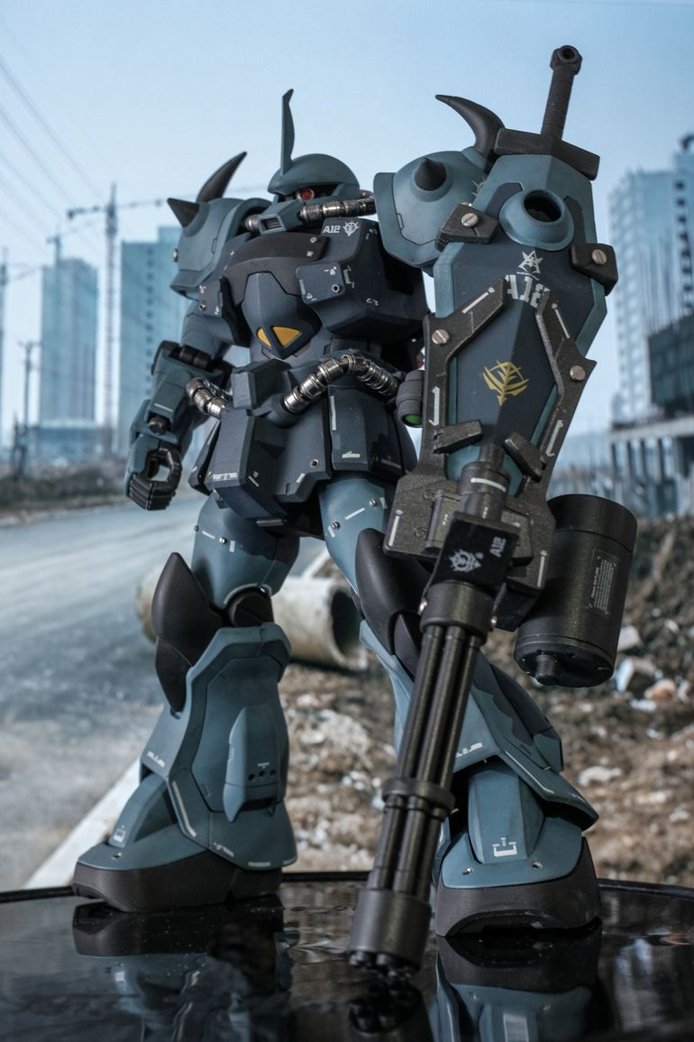 Custom Build MG 1/100 Wing Gundam Proto Zero EW ver
