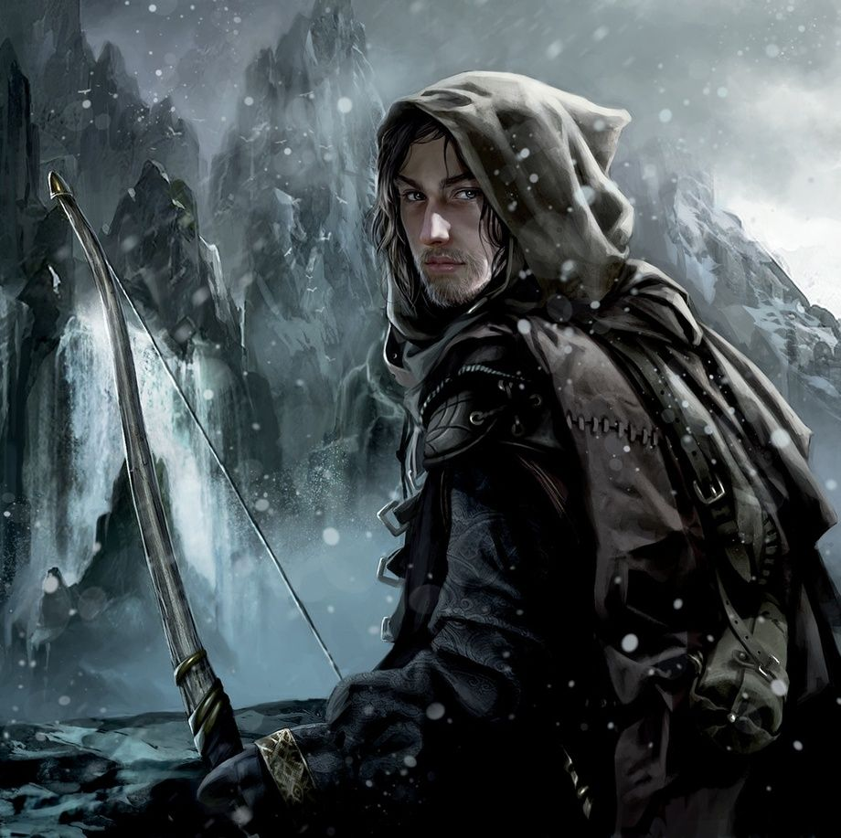 Faramir, an art print by Magali Villeneuve | Fantasy heroes, Tolkien art,  Middle earth