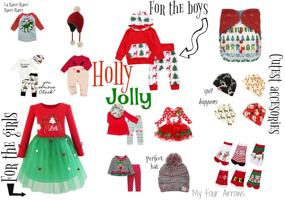 Holly Jolly Kids Outfits | Christmas outfits, Kids outfits and ...